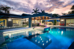 Luxury Villa steps from the beach for sale.